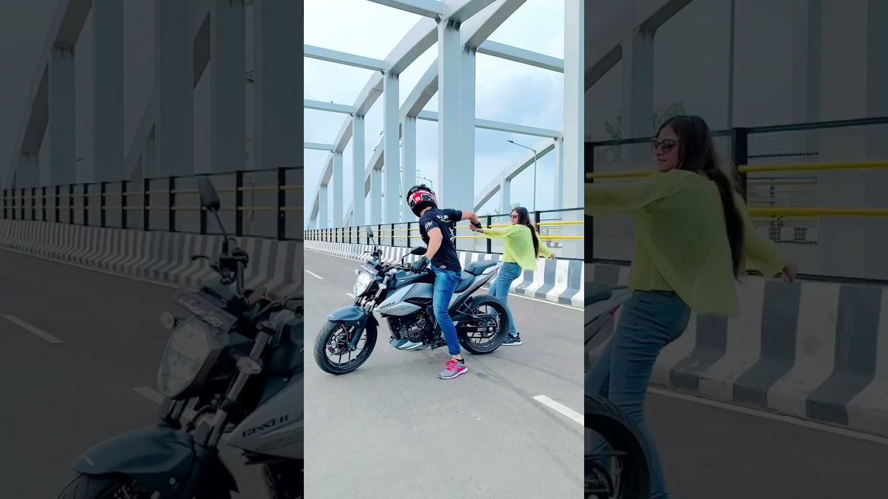 PERFECT or NOT ?😍❤️ mast laga na?? Comments me batao!🔥#farazstuntrider #bikestunt #superbikes