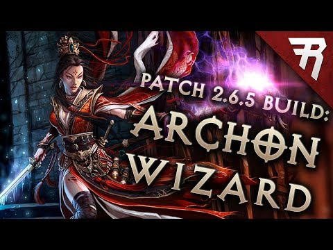 Diablo 3 Season 17 Wizard Vyr Chantodo Archon build guide - Patch