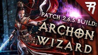 Diablo 3 Season 19 Wizard Vyr Chantodo Archon build guide - Patch 2.6.7 (Torment 16)