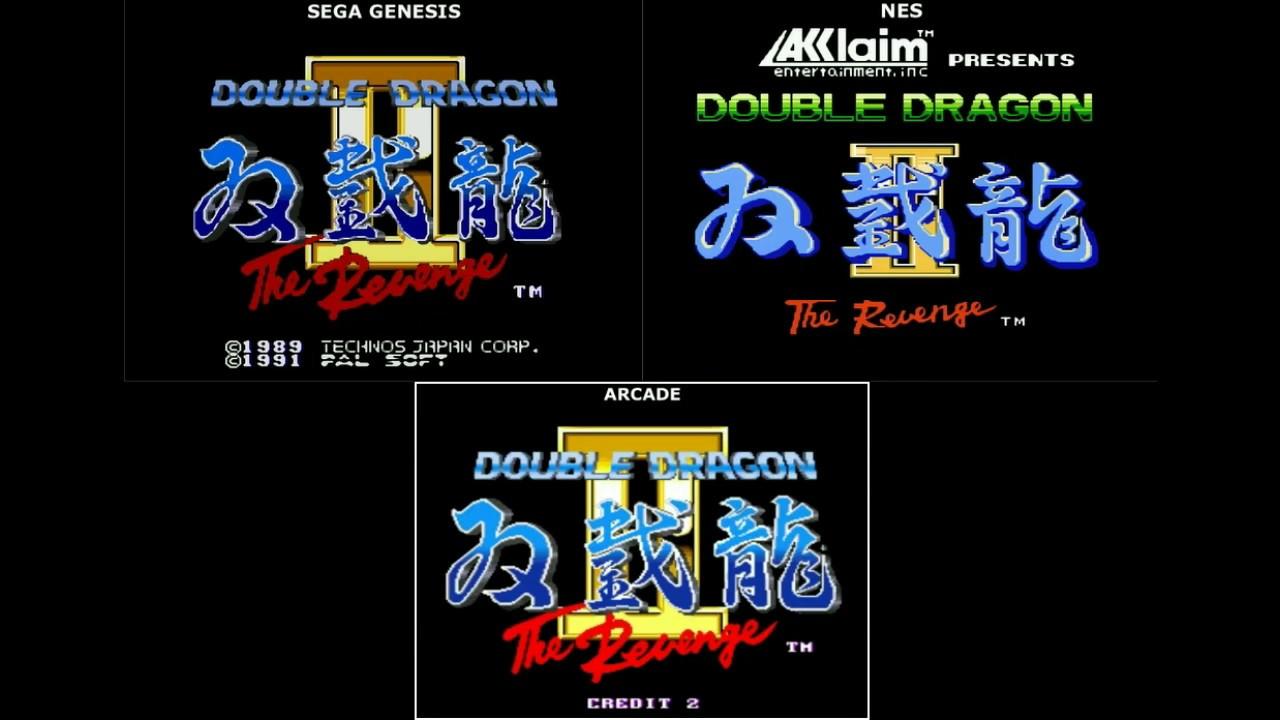 Double Dragon Ii The Revenge Platform Comparison Sega Genesis