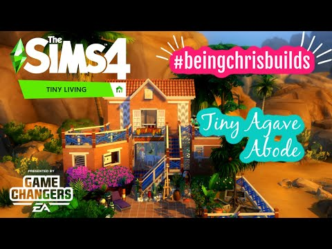 #EAGameChanger #thesims4tinyliving | Early Access | Tiny Agave Abode |