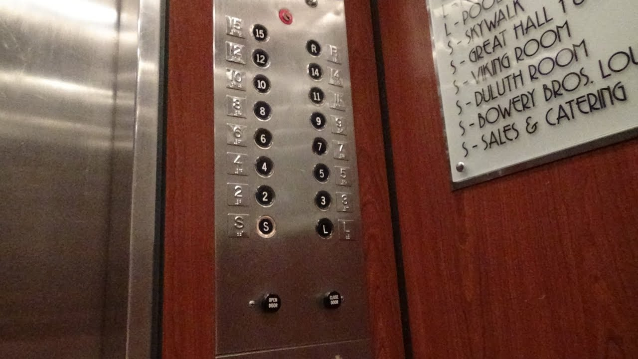 Duluth Mn Epic Otis Lexan Traction Elevators Radisson Hotel