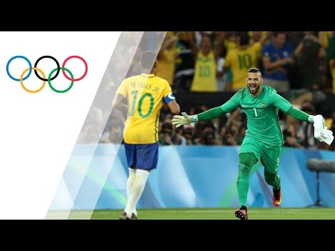 First Men's Olympic Football gold for Brazil