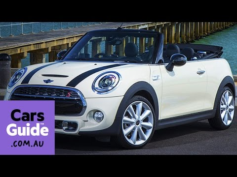2016 Mini Convertible Review First Drive Video