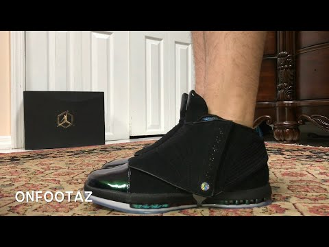 Air Jordan 16 XVI CEO Boardroom On Foot
