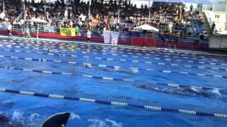 200m sf boys finswimming