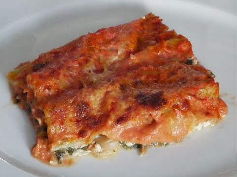 Канелони Вегетарианские рецепты