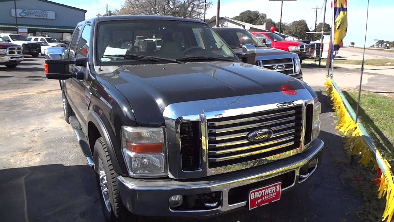 2008 ford f250 super duty lariat powerstroke review