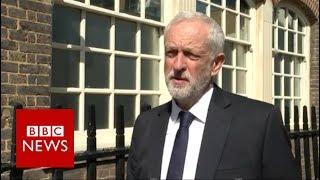 Labour leader Jeremy Corbyn  I'm shocked and horrified   BBC News
