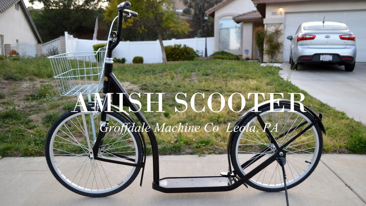 The Product Review Show Ep1 - Amish Scooter Demo 2016 - 2060/20