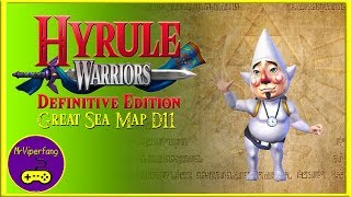 Hyrule Warriors (Switch): Great Sea Map D11 - Tingle
