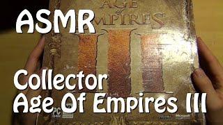[ASMR] Découverte du collector d'Age of Empire 3