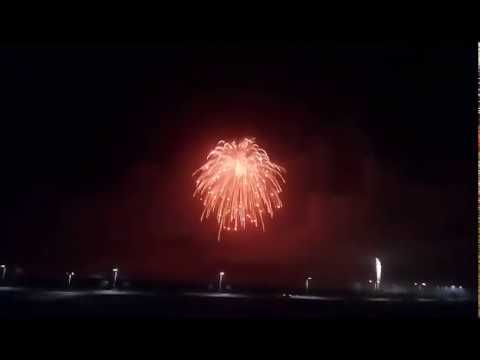 The Biggest firework shell 2018 - Guiness World Record attempt - Ras Al Khaimah, UAE