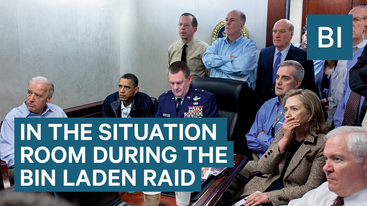 What It Was Like In The Situation Room During The Osama Bin Laden Raid