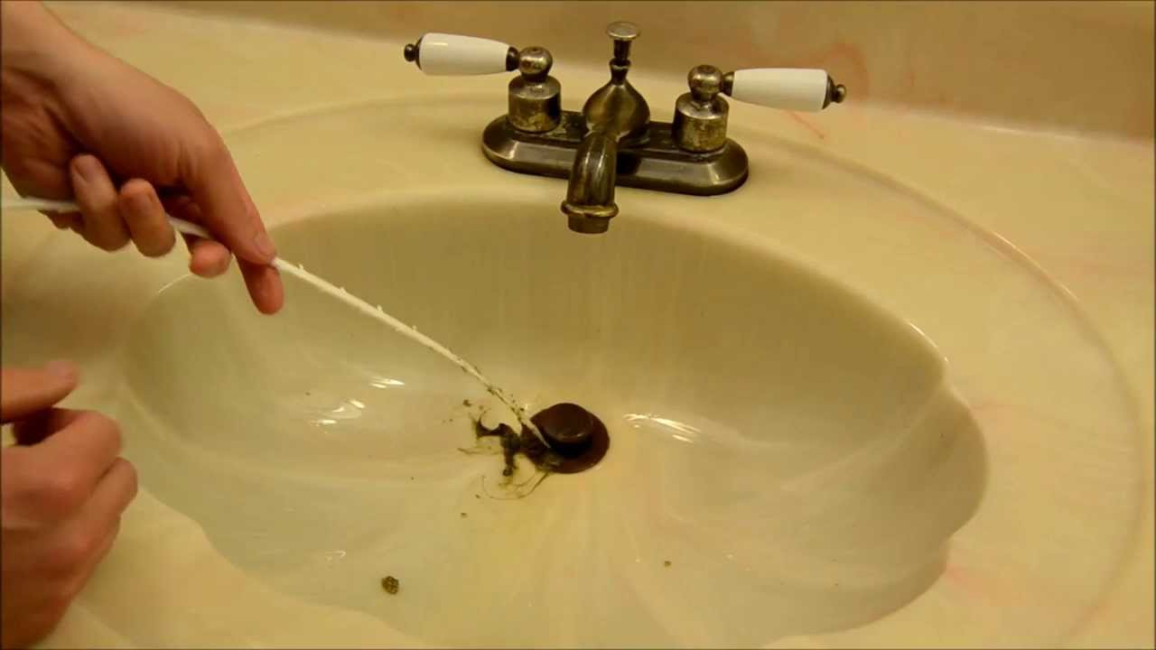 Quickest, Easiest Way To Fix Slow Draining Sink With $2 Zip It Tool    YouTube Pictures