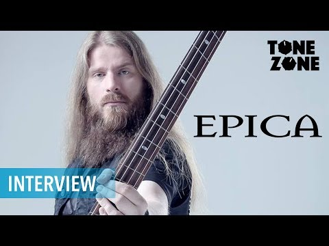 Epicas Rob van der Loo talks about his Gear and Career | Tone Zone