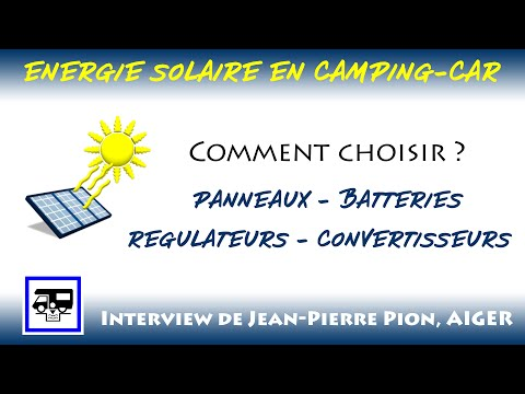 Energie solaire en camping-car
