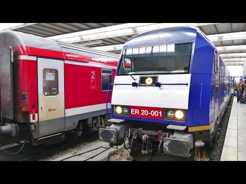 """Blaue """"Beacon Rail Leasing Limited"""" vor dem Alex in München Hbf......."""