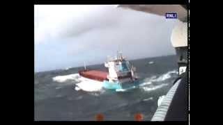 Stricken ship battling big seas off Scotland in 24 hour lifeboat shout