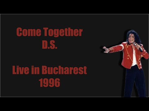 Michael Jackson Come TogetherDS  in Bucharest 1996 HD60FPS