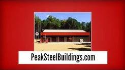 Metal Buildings for Sale - Steel Building Kits - Peak Steel Buildings
