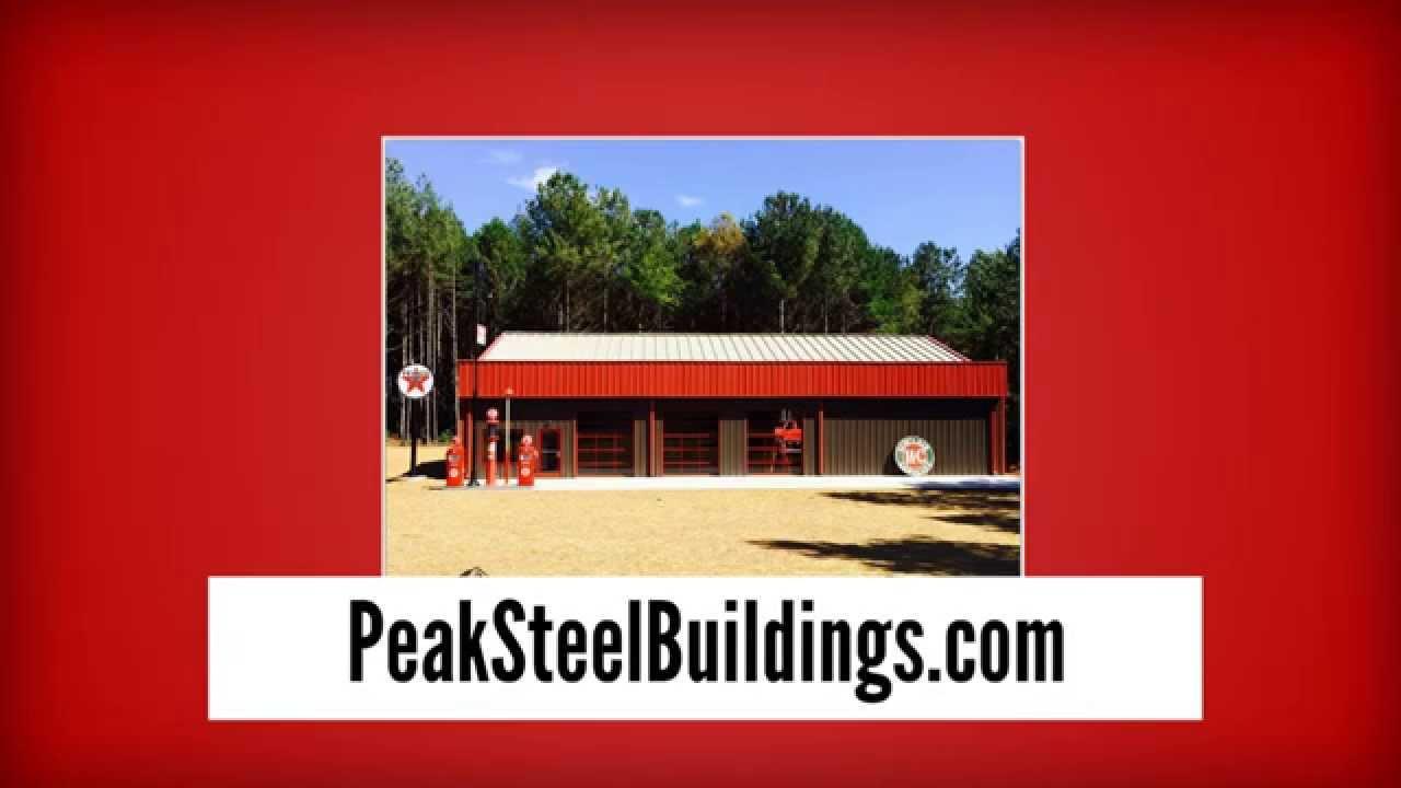 Metal buildings for sale steel building kits peak for Metal house kits for sale