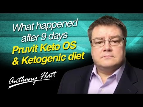 What happened after 9 days Pruvit Keto OS & Ketogenic diet. Before and after weight loss & ketones
