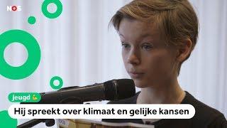 Lars (12) laat politici van Gelderland naar hem luisteren