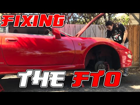 MITSUBISHI FTO NEEDS A LOT OF LOVE!!! [Day One - FTO Repairs]