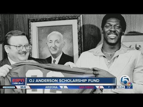 "Ottis ""OJ"" Anderson reflects on NFL Draft experience"
