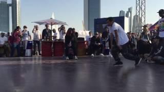 مسابقة     ريد بول ابوظبي   لرقص  هيب هوب