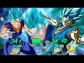 TEQ VEGITO BLUE SA1 TO RAINBOW MAX DAMAGE TEST!! | DOUBLE FAN ART | DRAGON BALL Z DOKKAN BATTLE