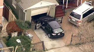 RAW: Police In Oakland Search For Suspect After Pursuit From Castro Valley