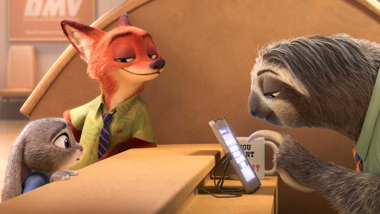 Bradipi di zootropolis scena completa video youtube