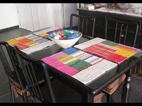 Como fabricar manteles individuales y portavasos arte en casa by juan gonzalo angel youtube - Ideas para hacer manteles ...