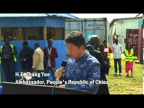 CHINA GIVES BIG TO LIBERIA