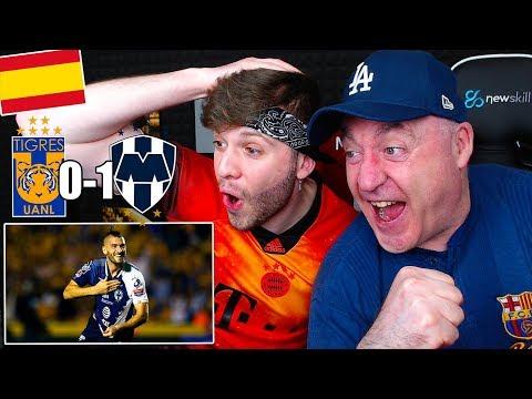 ESPAÑOLES REACCIONAN al TIGRES 0-1 MONTERREY Ida FINAL CONCACAF Champions League 2019