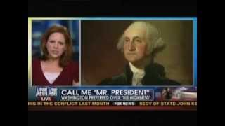 Author Jane Hampton Cook talks about George Washington's election on Fox & Friends
