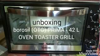 borosil Prima 42 L unboxing   OTG  Amazon purchase   Allinonestatus