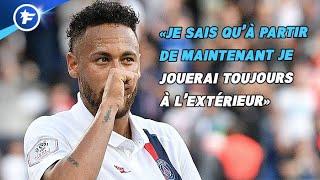 Neymar explique pourquoi il voulait quitter le PSG et répond aux supporters
