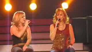 Reba and Kelly Cathy