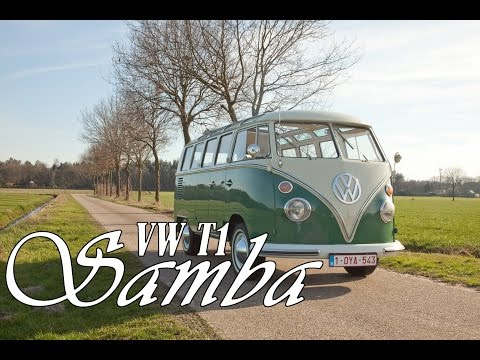VW T1 Samba POV and acceleration test 1966