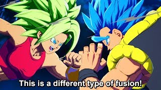 ALL Kefla Vs Gogeta, Vegito & All Fusions Special Quotes - Dragon Ball FighterZ DLC Unique Dialogue