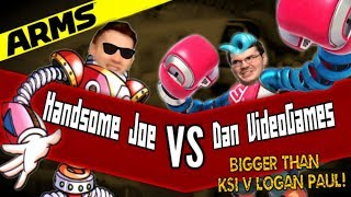 ARMS FIGHTS TONIGHT: GIGABOYS BATTLE ROYALE!