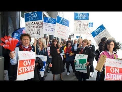 Air Canada Workers Make a Deal Under the Gun