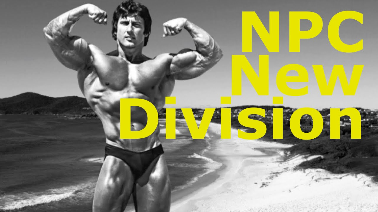 NPC Announces New Division - Mens Classic Physique - YouTube