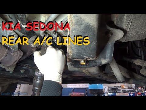 Kia Sedona - Rear A/C Lines