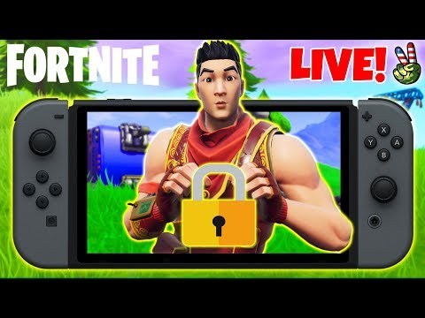 Pro Nintendo Switch Player! // OMG SECRET KEY GAMES! // (Fortnite Battle Royale LIVE) thumbnail