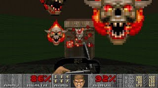 Doom II: Hell on Earth - Nightmare! in 12:44 [TAS]