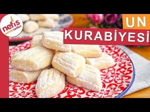 Pastane Usulü UN KURABİYESİ TARİFİ - Nefis Yemek Tarifleri